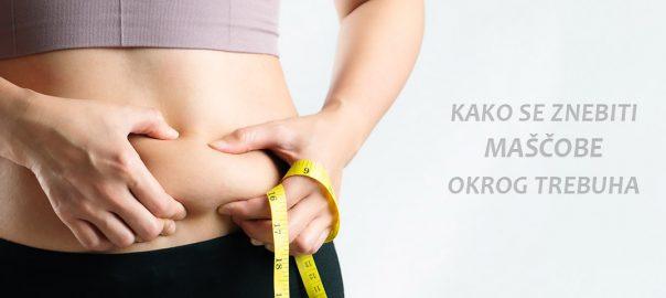Maščoba okrog trebuha